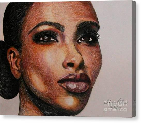 Black Beauty 1 Canvas Print
