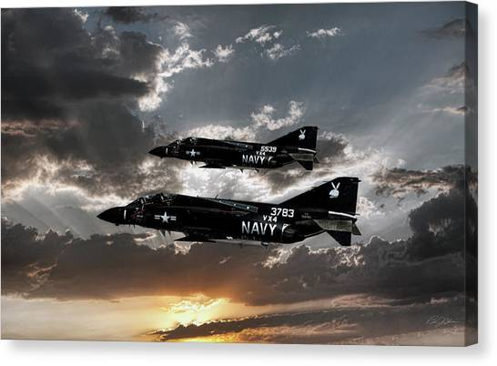 Vietnam War Canvas Print - Black Bunnies by Peter Chilelli