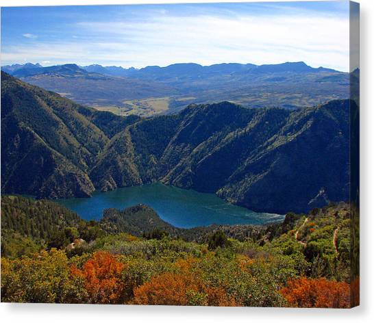 Black Canyon Of The Gunnison Canvas Print