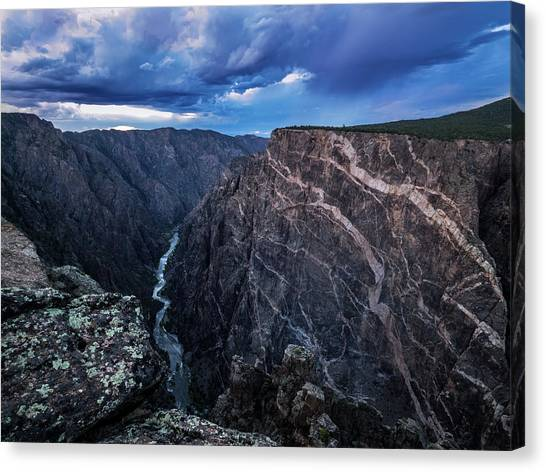 Black Canyon Of The Gunnison National Park Canvas Print