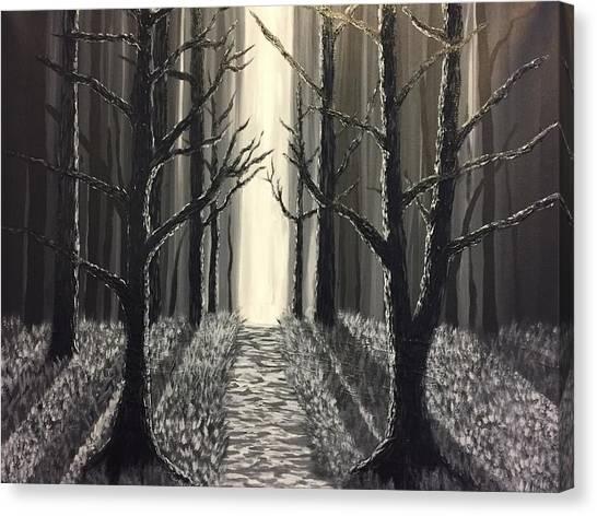 Black Forest  Canvas Print
