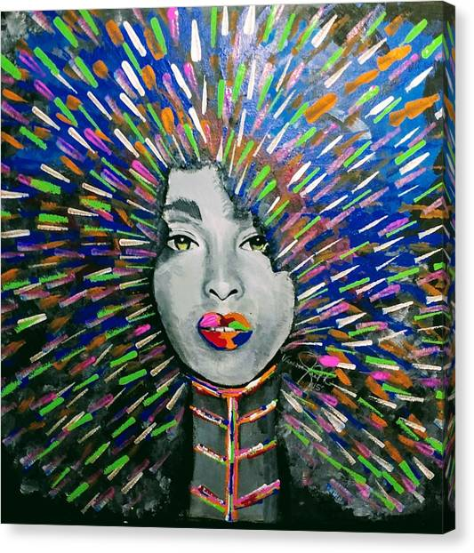 Canvas Print - Black Girl Magic by Vanessa Faith
