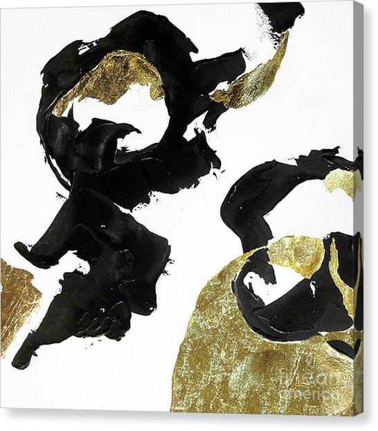 Canvas Print - Black Gold 4 by Chris Paschke