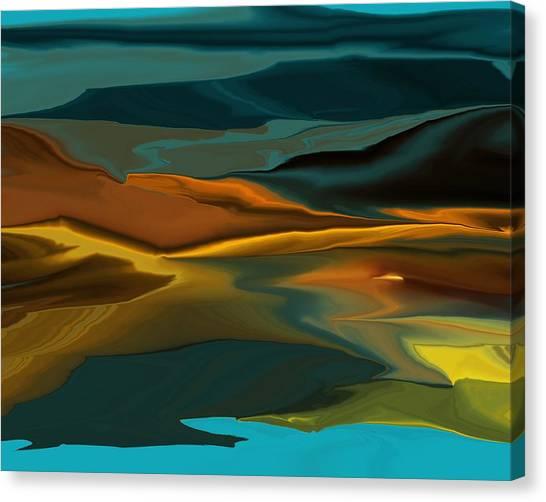 Black Hills Abstract Canvas Print