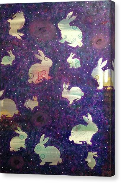 Black Holes And Bunnies Canvas Print
