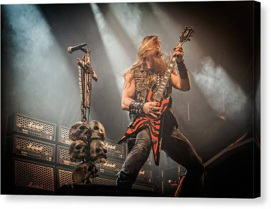 Black Label Society II Canvas Print