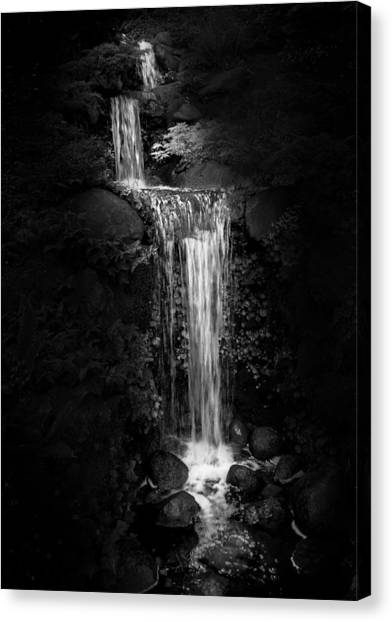 Black Magic Waterfall Canvas Print