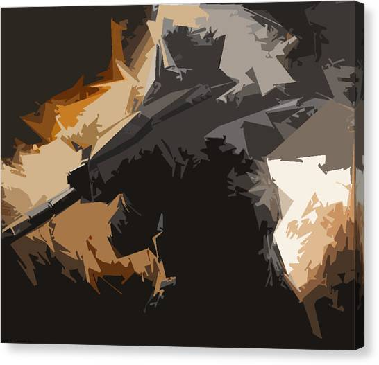 Call Of Duty Canvas Print - Black Ops 2 Sketched by Nehemiah Dias