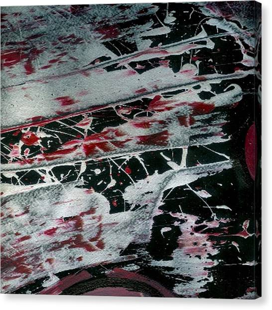 Gerhard Richter Canvas Print - Black Pearl by Corbin Henry