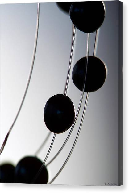 Black Pearls Canvas Print