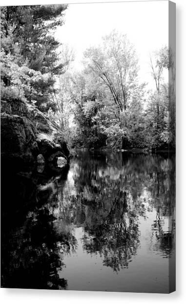 Black River 6 Canvas Print