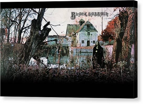 Old Age Canvas Print - Black Sabbath by Mariel Mcmeeking