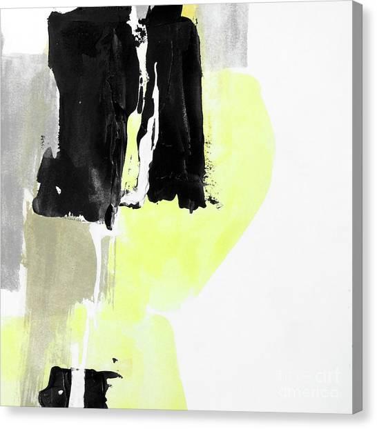 Canvas Print - Black Tints 2 by Chris Paschke