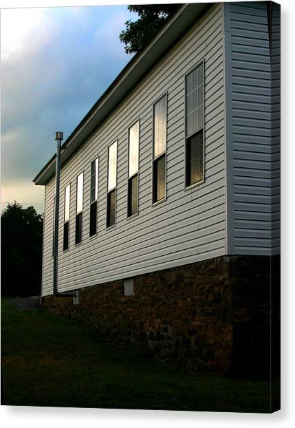 Blackburn Church Sunset Canvas Print