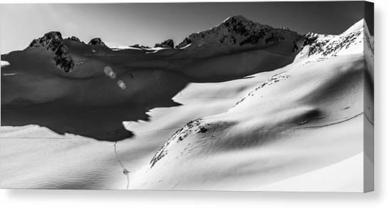 British Columbia Canvas Print - Blackcomb Backcountry by Ian Stotesbury