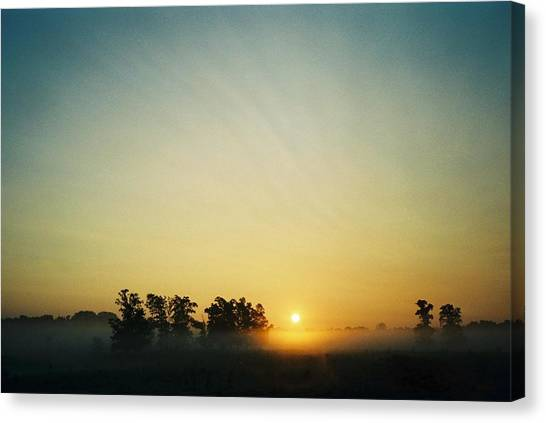 Blackford County Morning Canvas Print by Gene Linder