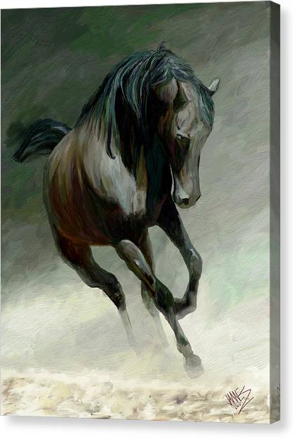 Blackjack Canvas Print