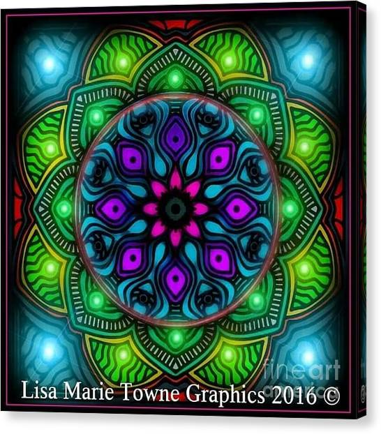 Canvas Print - Blacklight 15 by Lisa Marie Towne
