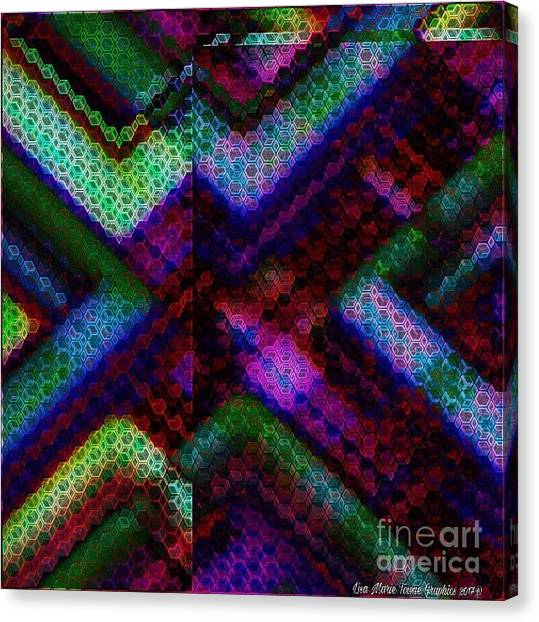 Canvas Print - Blacklight 727 by Lisa Marie Towne