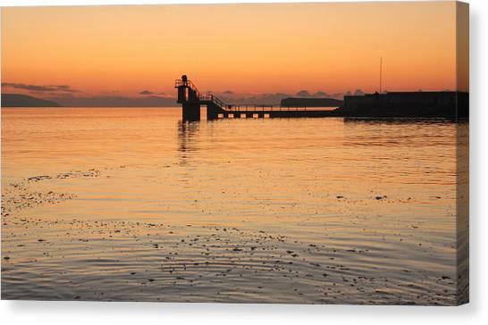 Blackrock Sunset Canvas Print