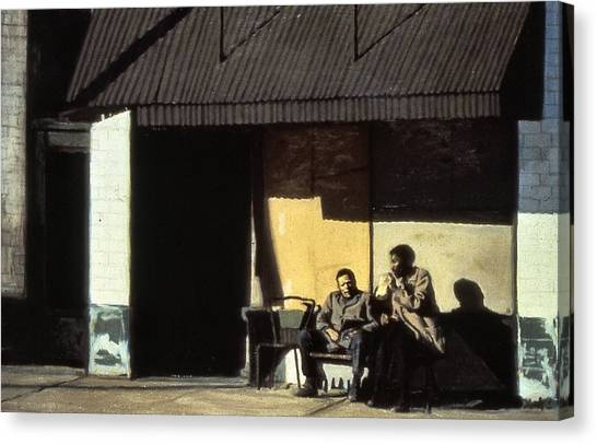 Canvas Print - Blacks And Blues by David Buttram
