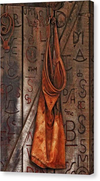 Blacksmith Apron Canvas Print