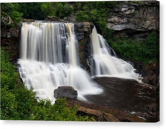 Blackwater Falls State Park West Virginia Canvas Print
