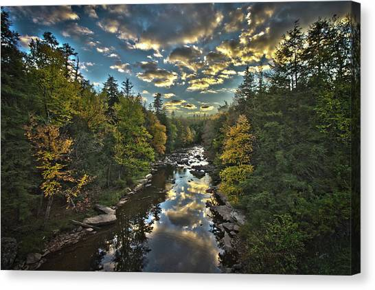 Blackwater River Canvas Print