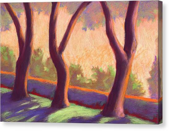 Blake Garden Trees Canvas Print