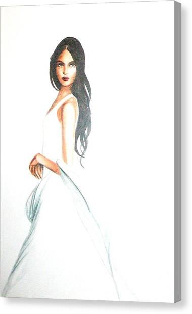 Blanca Canvas Print