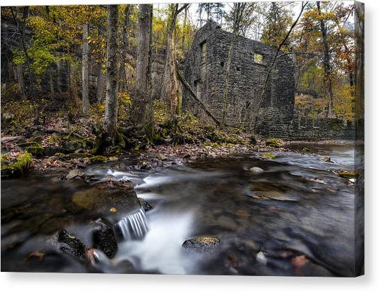 Blanchard Mill Canvas Print