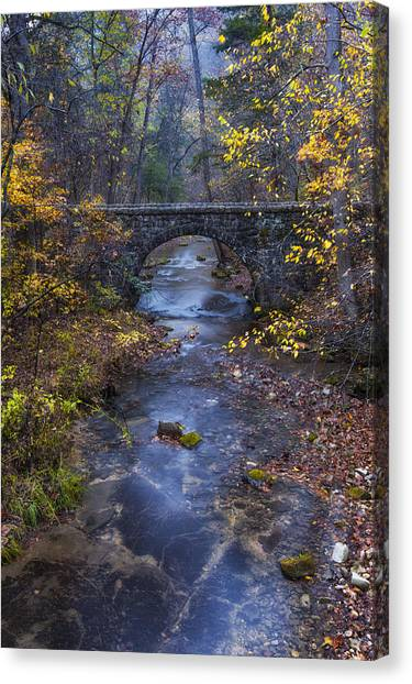 Blanchard Stone Bridge Canvas Print