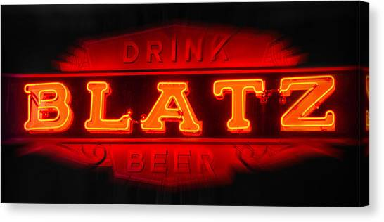 Blatz Beer  Canvas Print