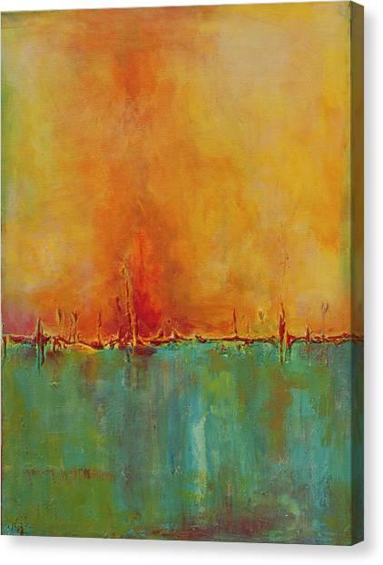 Blazing Canvas Print