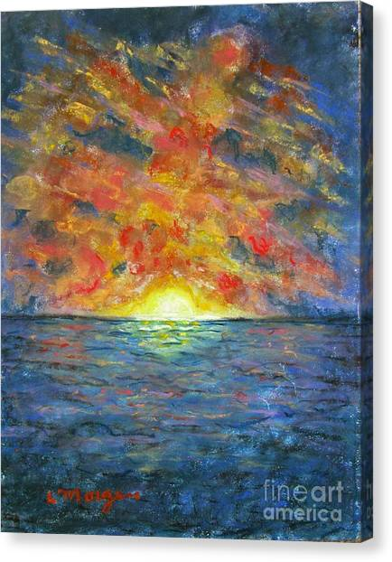 Blazing Glory Canvas Print