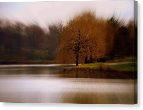 Blazing Zoom Canvas Print