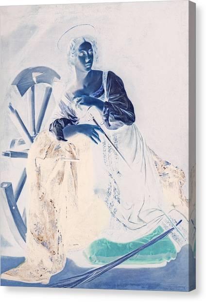 Blend 7 Caravaggio Canvas Print