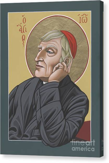 Blessed Cardinal John Henry Newman 221 Canvas Print