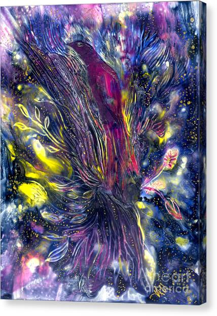 Blessing Of Freedom Canvas Print by Heather Hennick