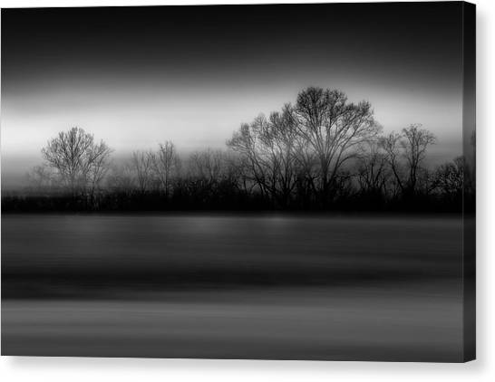 Blink Black And White Canvas Print