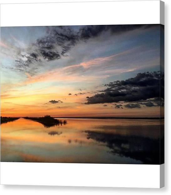 Everglades Canvas Print - #bliss #broward  #clouds #epic_captures by Erin Ryan