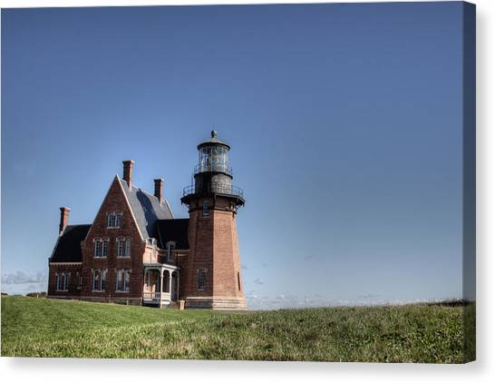 Block Island  Southeast Light Canvas Print