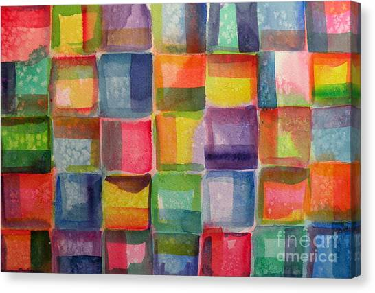 Blocks II Canvas Print