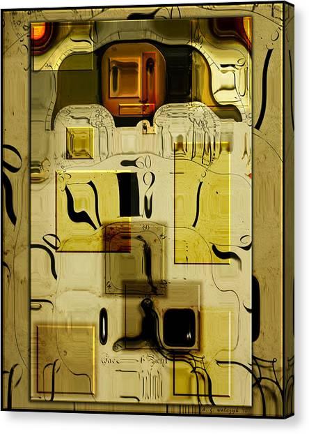 Blocks Of Time Canvas Print by Daniel G Walczyk