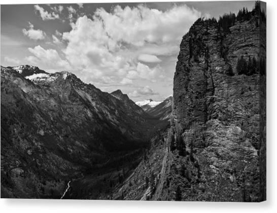 Blodgett Canyon Canvas Print
