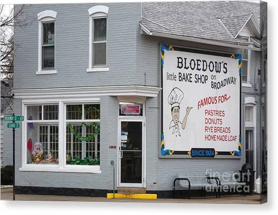 Bloedow's Bakery Winona Mn Canvas Print