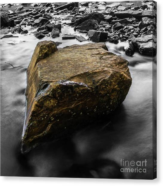 Blonde Rock Canvas Print