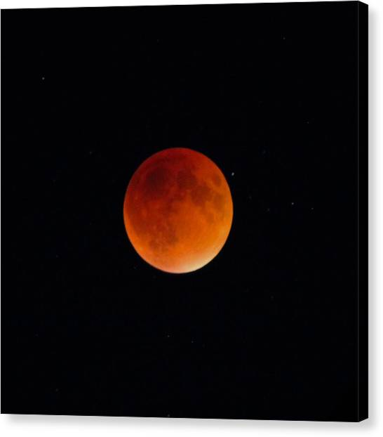 Blood Moon 2 Canvas Print