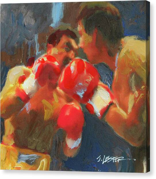 Blood, Sweat And Tears Canvas Print