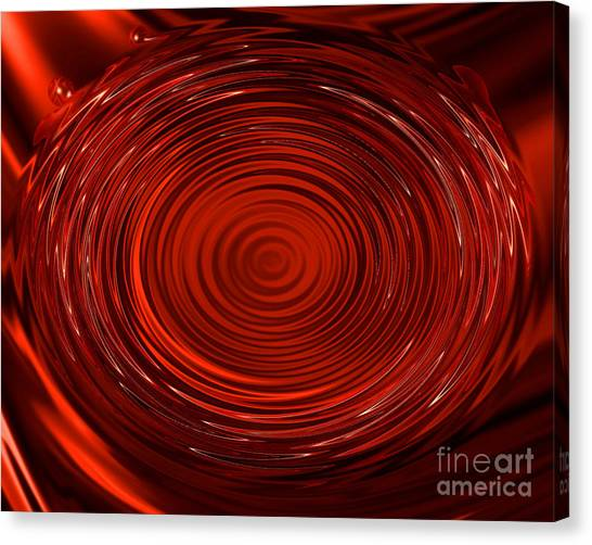 Blood Tears Canvas Print